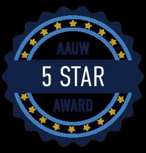 AAUW Five Star Badge