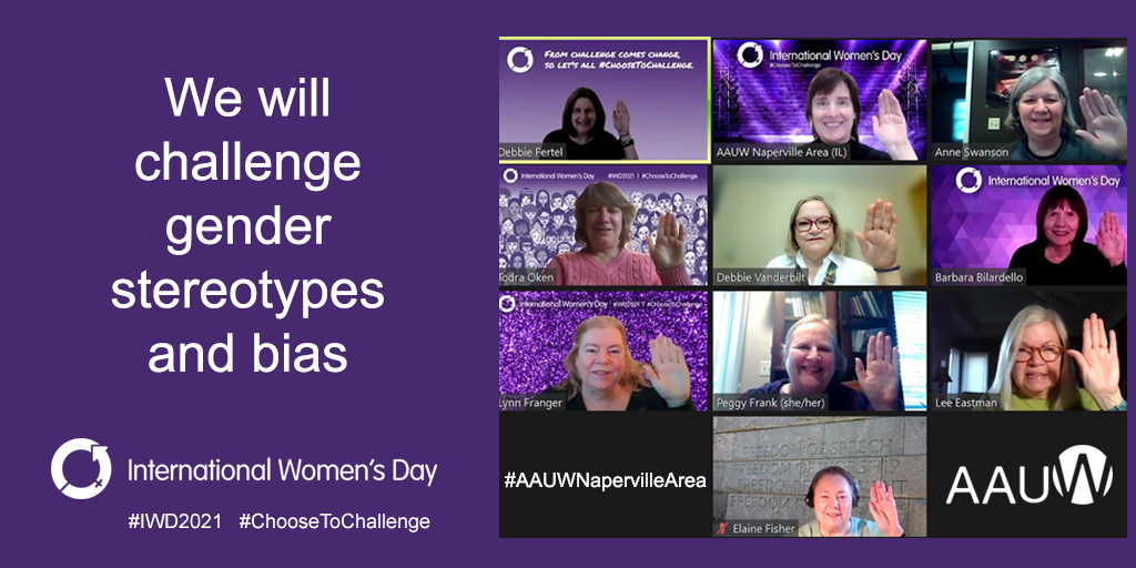 We will challenge gender stereotypes and bias - International Women's Day